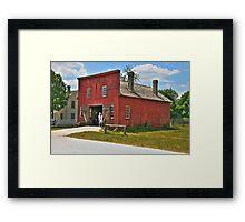 Blacksmith Shop 3 Framed Print