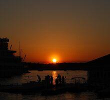 Orange Julius Sunset by GFORCE