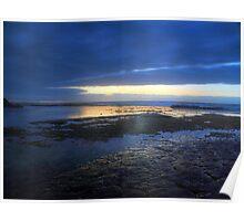 Catch the Light - Garie Beach, NSW Poster
