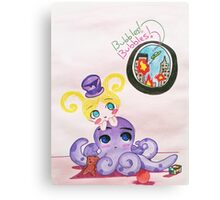 Bubble's just wants to Play Canvas Print