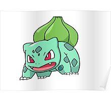 #1 Bulbasaur Poster