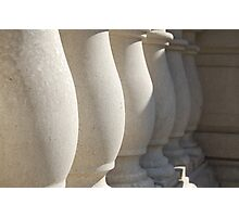 Pillars Photographic Print