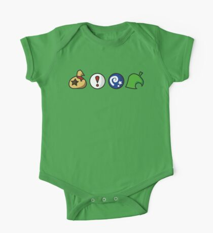 Animal Crossing Items (in many colours!) One Piece - Short Sleeve