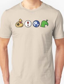 Animal Crossing Items (in many colours!) T-Shirt