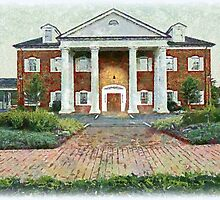 Colonial Revival Style by Jean Gregory  Evans