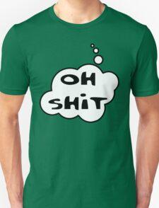 OH SH!T by Bubble-Tees.com Unisex T-Shirt