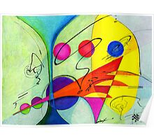 The Marriage Abstract Poster