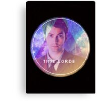 Doctor Who Time Lord Canvas Print