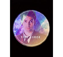 Doctor Who Time Lord Photographic Print