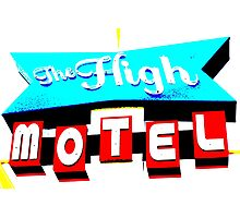 The High Motel. Photographic Print