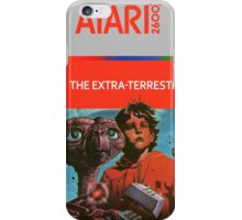 ET Extra terrestrial Atari 2600 Box Cover iPhone Case/Skin