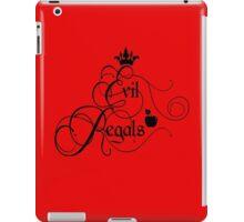 Evil Regals iPad Case/Skin