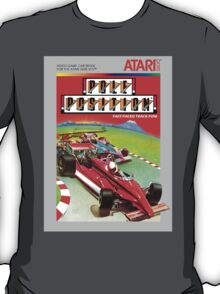 Pole Position Atari 2600 Box Cover T-Shirt