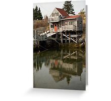 Blue Rocks Nova Scotia Greeting Card