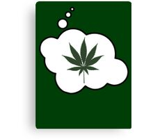 Weed by Bubble-Tees.com Canvas Print