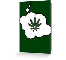 Weed by Bubble-Tees.com Greeting Card