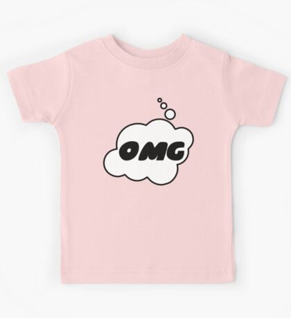 OMG by Bubble-Tees.com Kids Tee