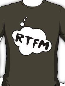 RTFM by Bubble-Tees.com T-Shirt