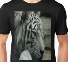 Ride the tiger..You can see his stripes but you know he's clean..you can feel his heart but you know he's mean..Some light can never be seen Unisex T-Shirt