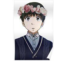 Kaneki Ken Flower Crown Poster