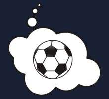 Soccer Ball by Bubble-Tees.com One Piece - Short Sleeve