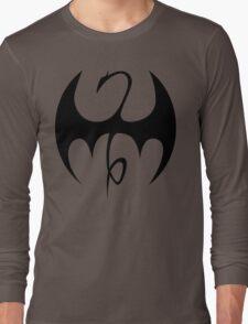 Iron Fist - Black Long Sleeve T-Shirt