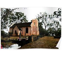 Anglican Church, Denham Court N.S.W. Poster