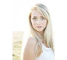 Portrait in the sun Photographic Print