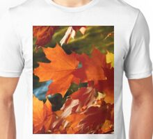 Fall leaves in the wind Unisex T-Shirt