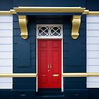Red Door 2 - Stanley Tasmania by Hans Kawitzki