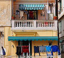 washing washing everywhere, Amalfi, Campania, Italy by Andrew Jones