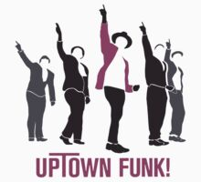 Uptown Funk! One Piece - Long Sleeve