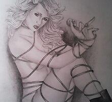 Paris Hilton by MLWillustration .com