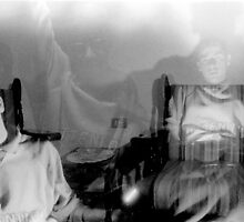 Self Portraits 1990's by Joseph Bailouni