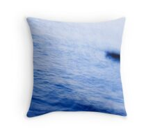 There's Something in the Water... Throw Pillow