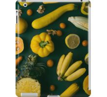 Yellow food iPad Case/Skin