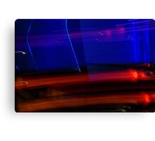 Red Blue and Black Canvas Print