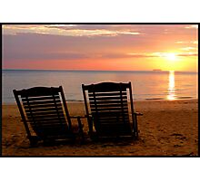 Sunset for Two Photographic Print