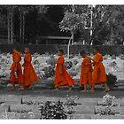 The Orange March by Skinno
