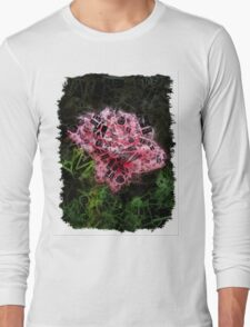 Pink Roses in Anzures 3 Letters 2 Long Sleeve T-Shirt