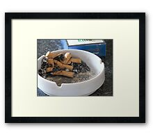 N is For Nicotine Framed Print