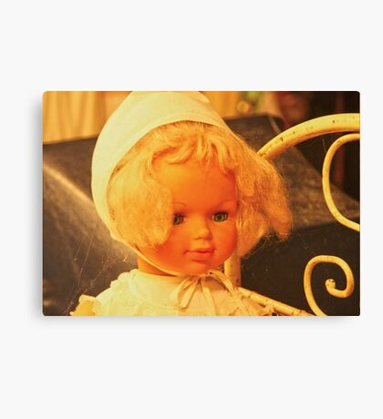 Lovely Doll Canvas Print