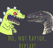 Jurassic World Reptar by 121sasusaku