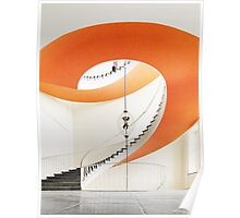 bright staircase Poster