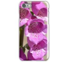 Tower of Pink Foxgloves iPhone Case/Skin
