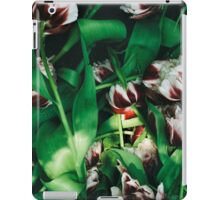 Withered tulips iPad Case/Skin