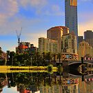Reflection on melbourne. by Thomas Anderson