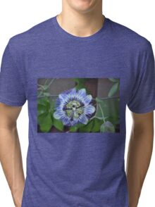 Climbing Passion Flower Tri-blend T-Shirt