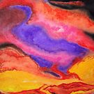 Volcanic Skies by Shane  Mclaren