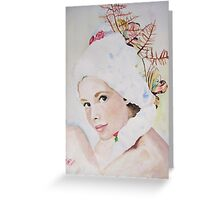 pretty face Greeting Card